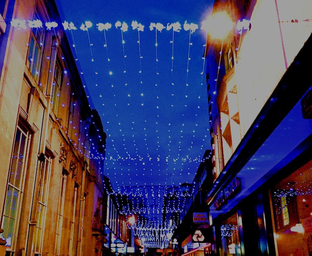 Davey Place lights