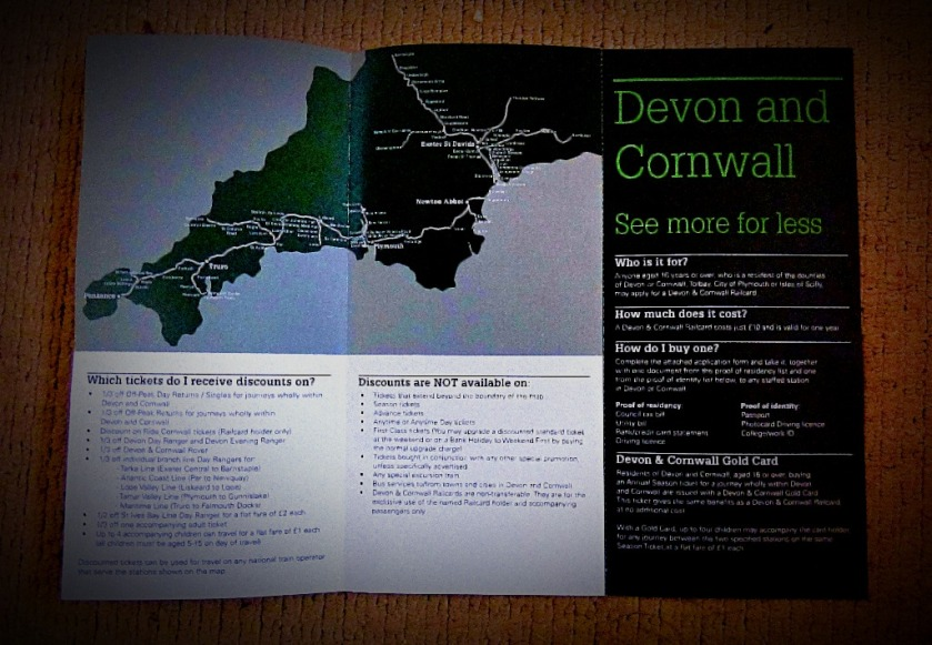 Devon & Cornwall Railcard 2