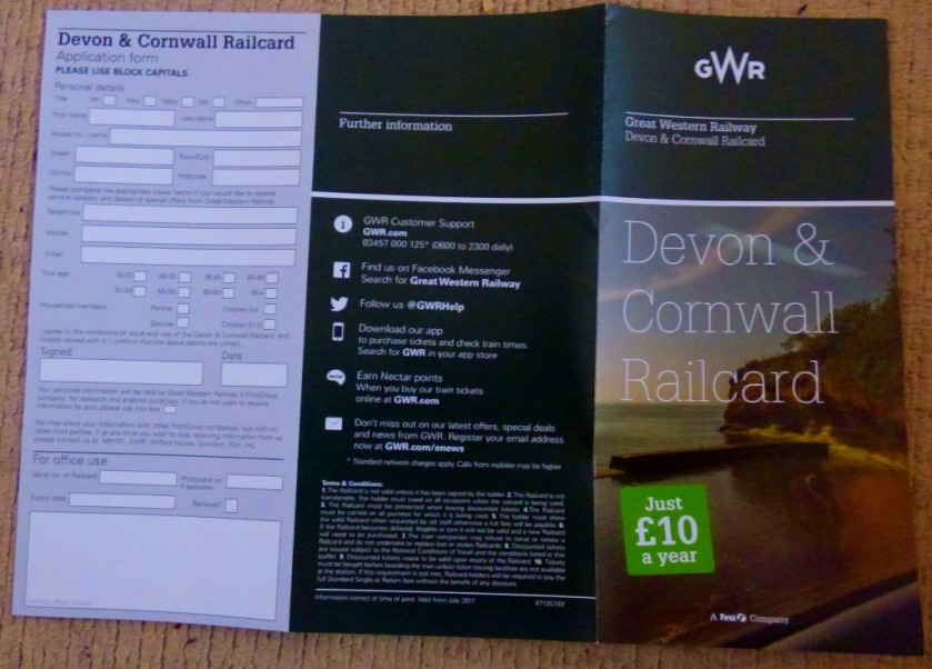 Devon & Cornwall Railcard