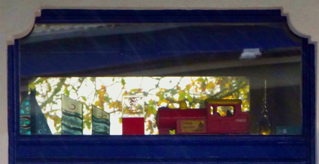 Display, waiting area, St Germans