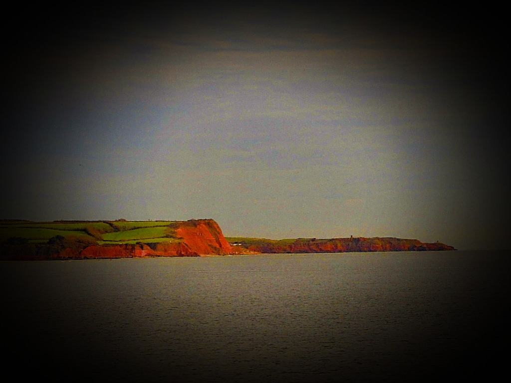 Headland from the train