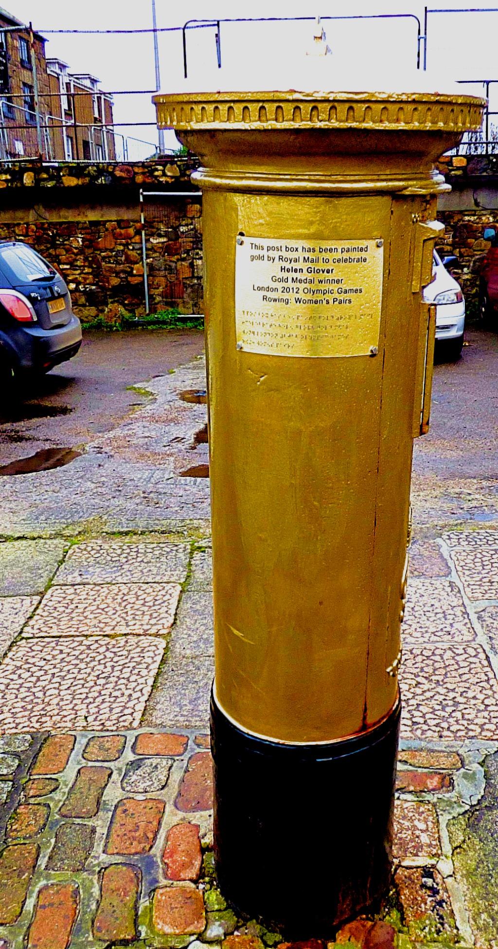 Helen Glover post box