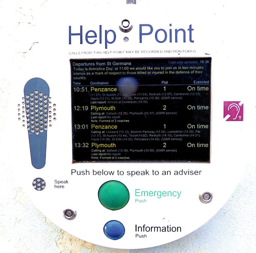 Help Point, St Germans