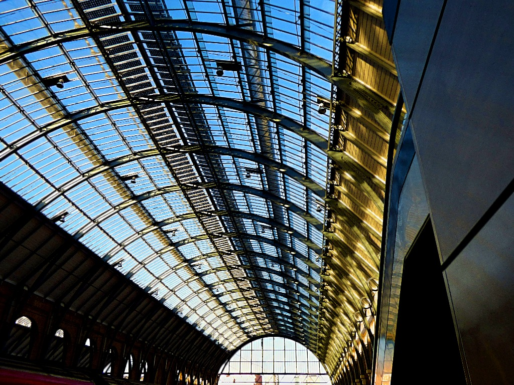 Kings Cross arched roof