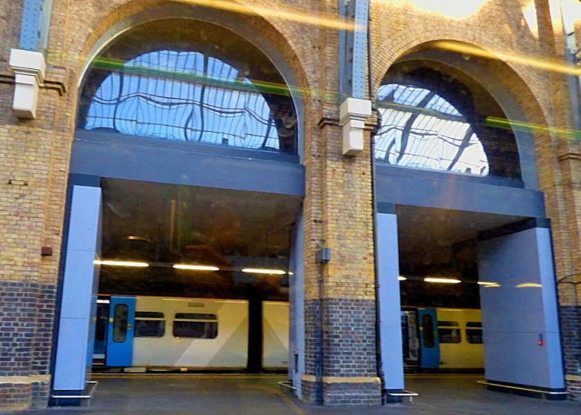 King's Cross just before departure