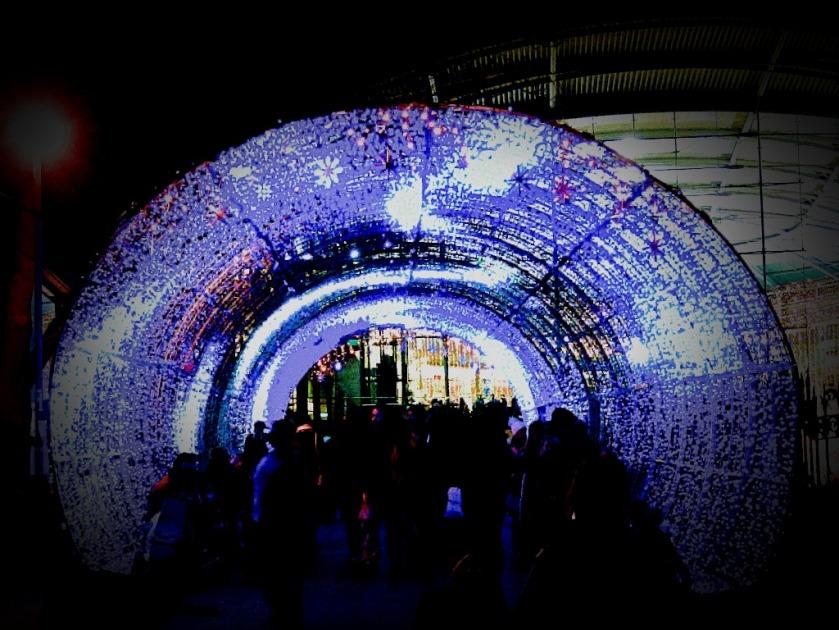 Light tunnel in full glory