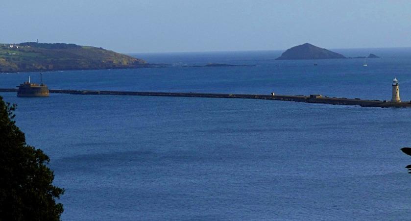 Lighthouse and headland