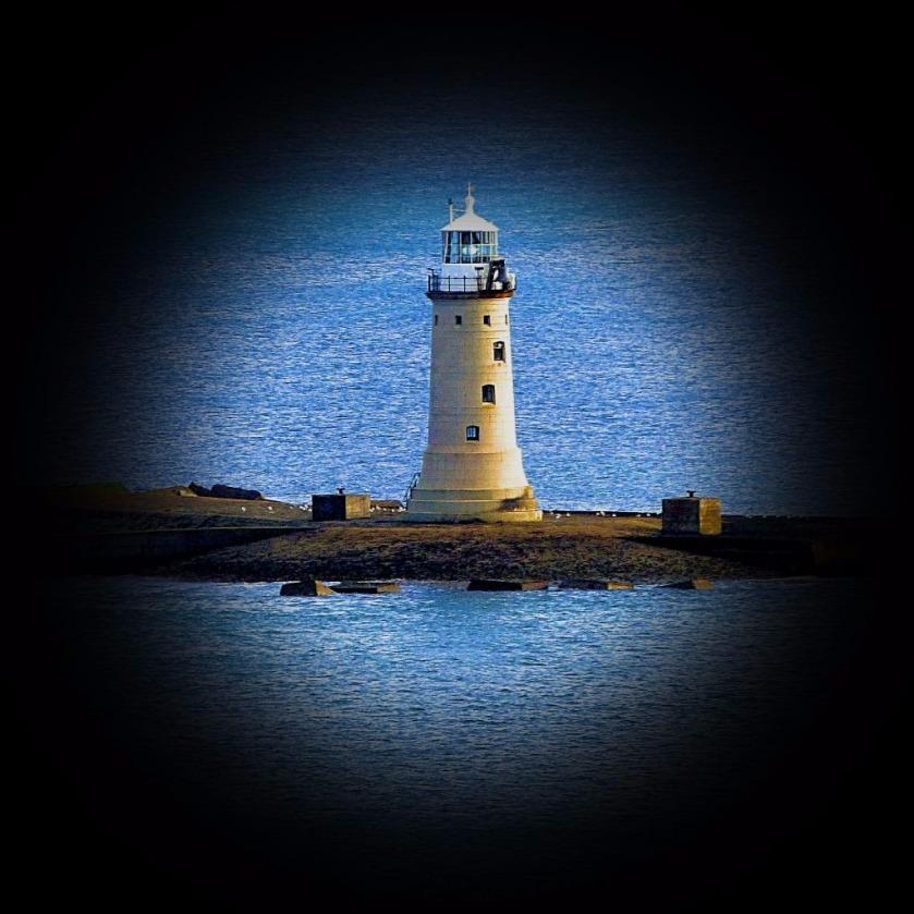 Lighthouse close up