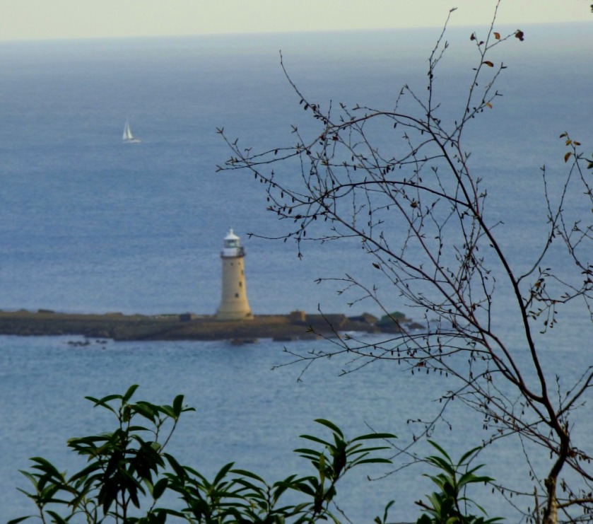 Lighthouse from on high