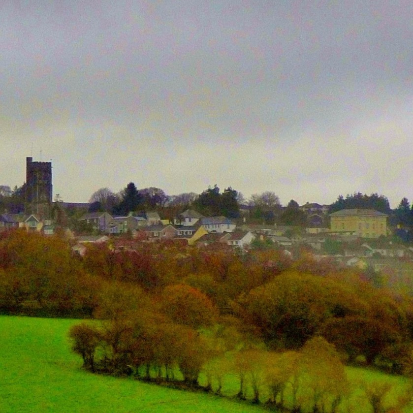 Liskeard through the window