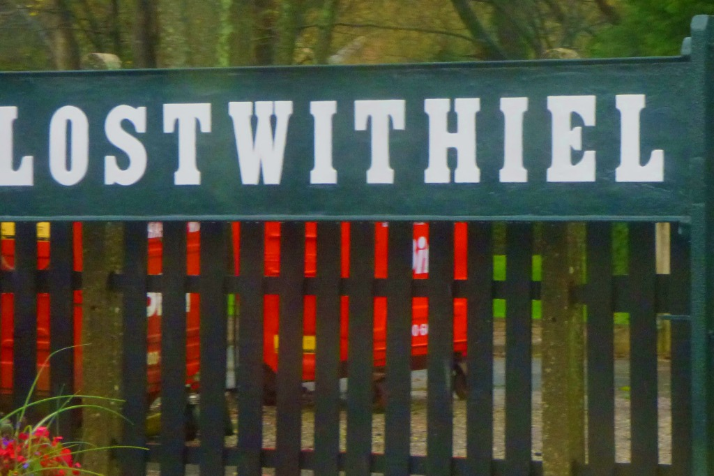 Lostwithiel sign