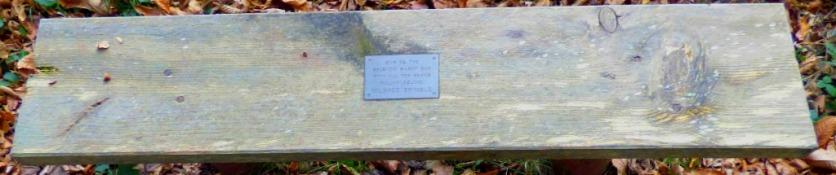 Mildred Brimble bench