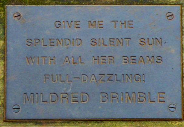 Mildred Brimble quote