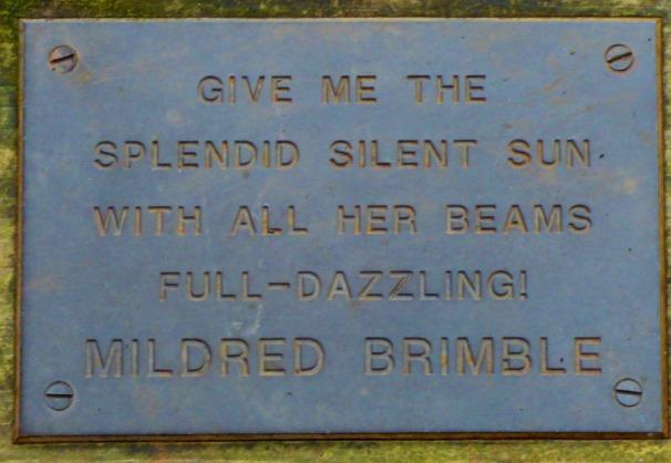 Mildred Brimble quote