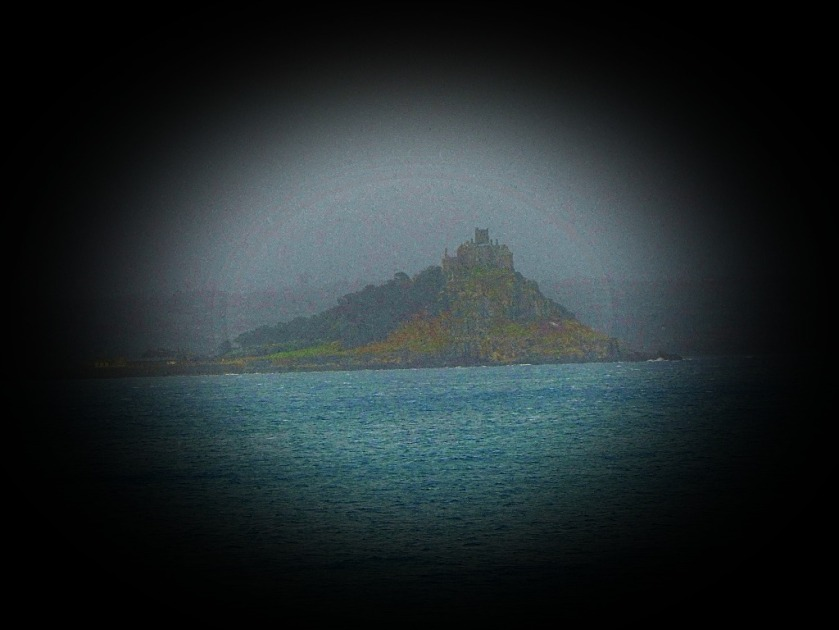 St Michael's Mount through mist