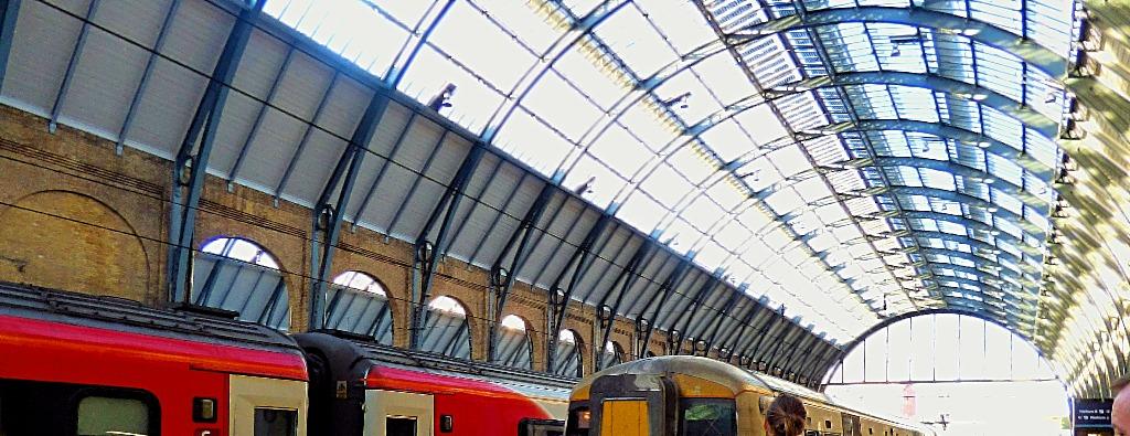 Trains at Kings Cross