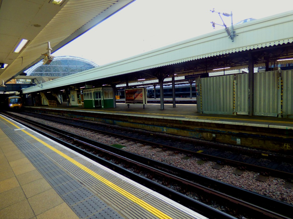 View from the Hammersmith & City line platforms