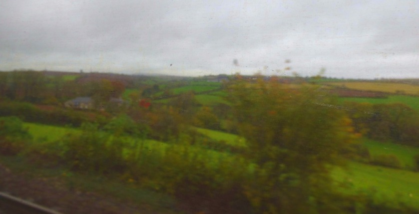 View from the train, just beyond St Germans
