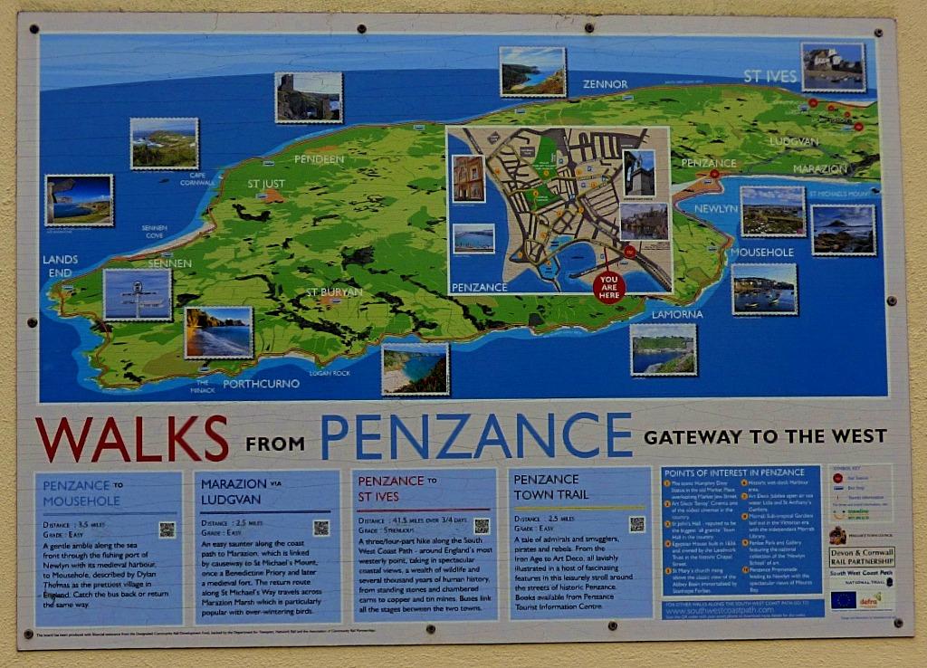 walks from Penzance