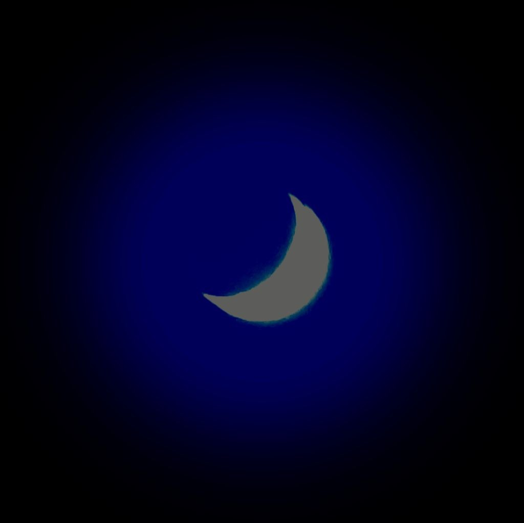 Crescent moon 1