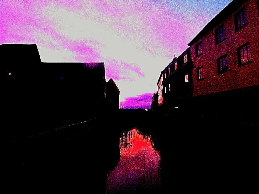 Sunset on the Upper Purfleet
