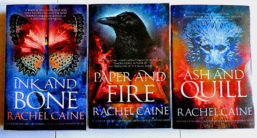 Rachel Caine's Great Library Novels