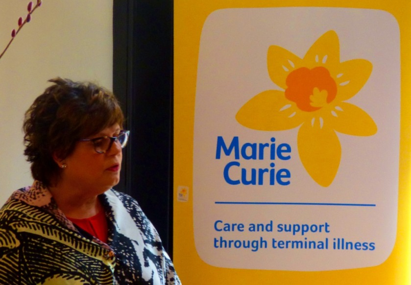 Marie Curie final speaker