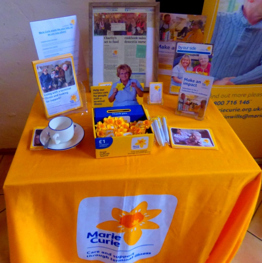 Marie Curie table