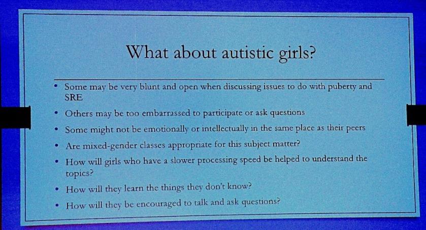 Autistic girls