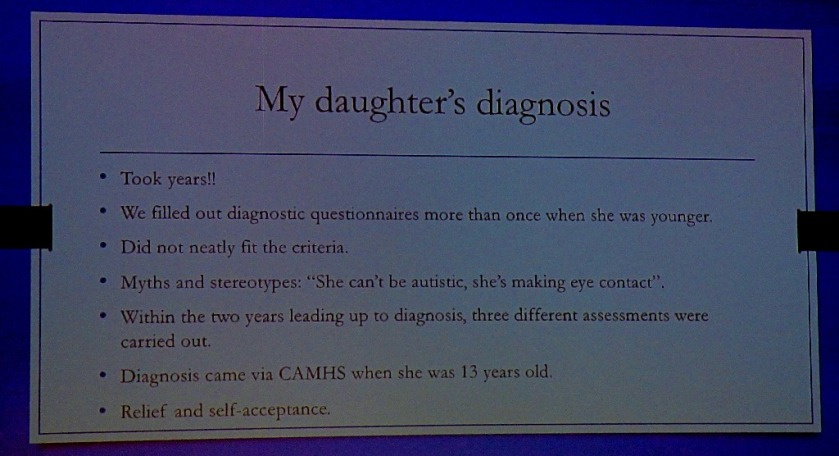 daughter's diagnosis