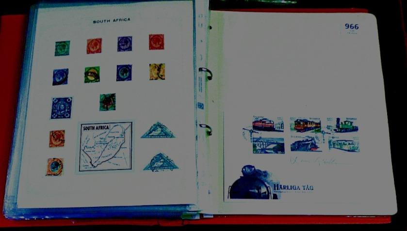 Folder close-up