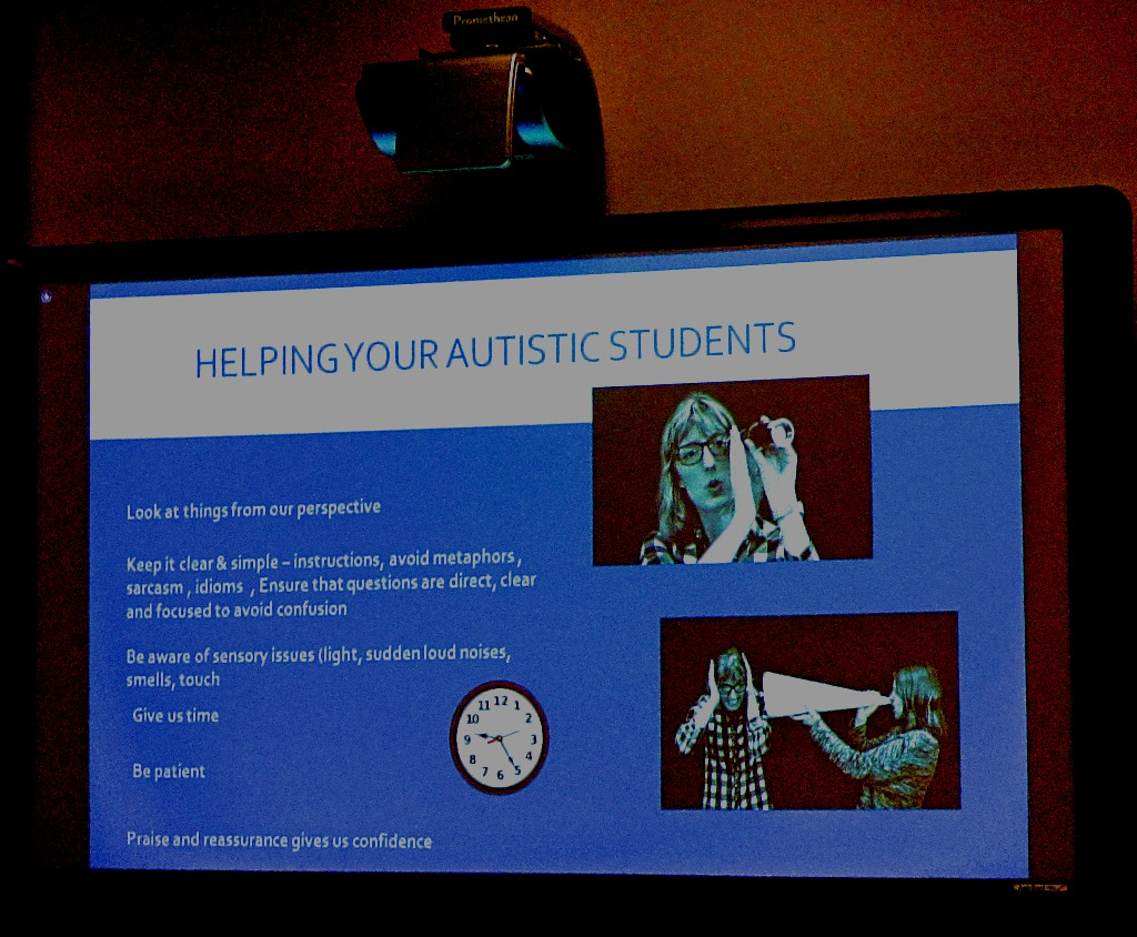 Helping Autistic Students