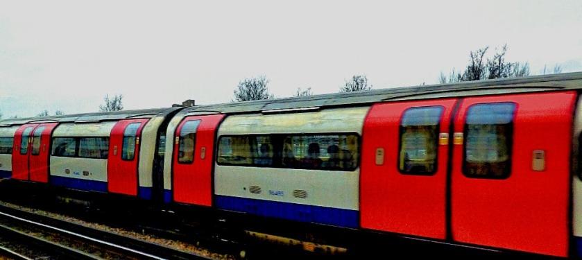Jubilee line train