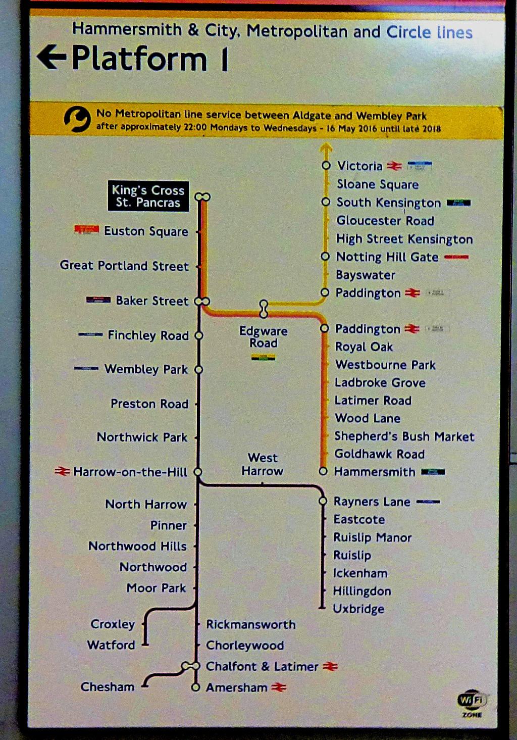 Route Map KCSP II