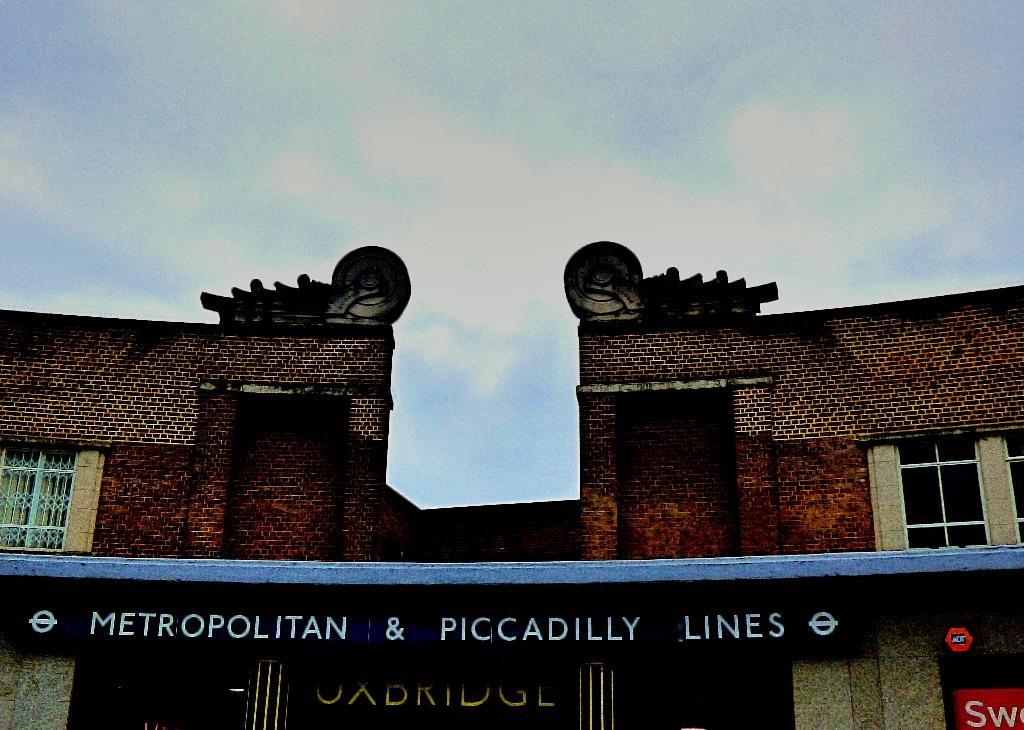 Station frontage, Uxbridge