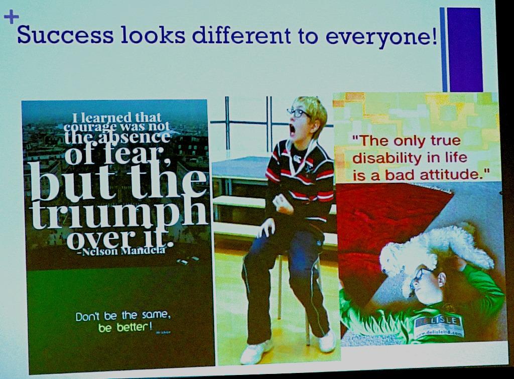 Success looks different