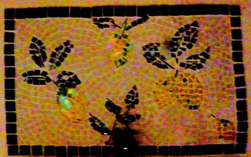 Bathroom mosaic, Tseria