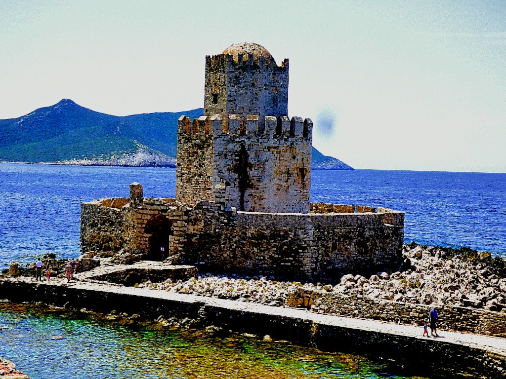 The Bourtzi of Methoni