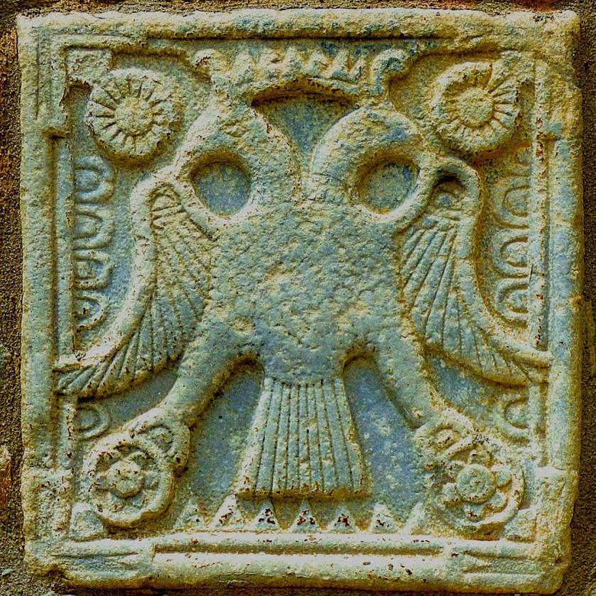Heraldic Double Eagle