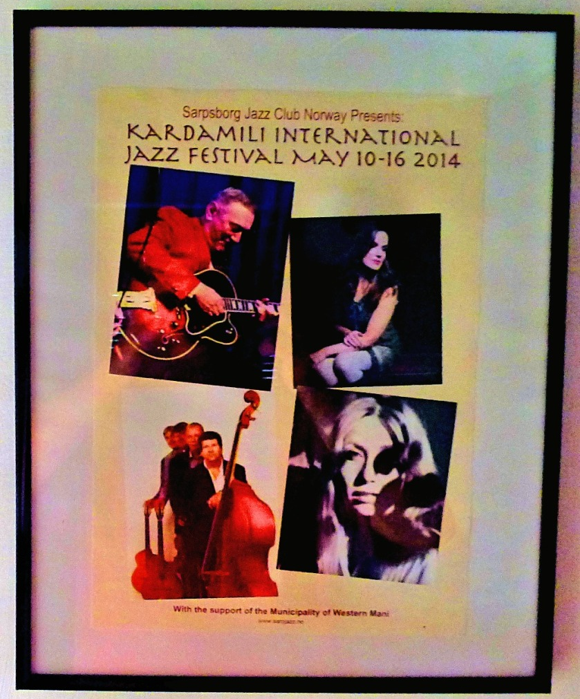 Jazz poster, Tseria