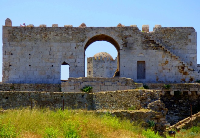 View at Methoni Castle