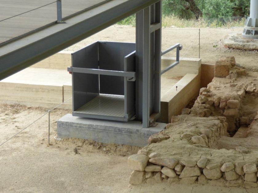 disabled access at Nestor's palace