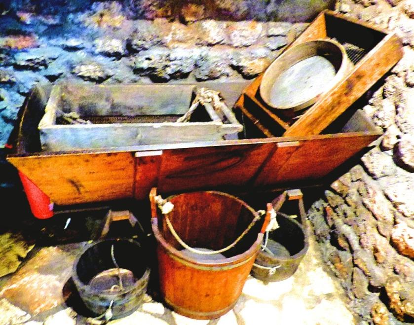 gunpowder sifting equipment