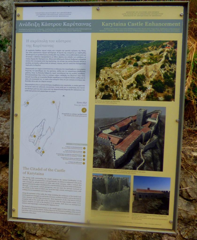 Karytaina castle enhancement