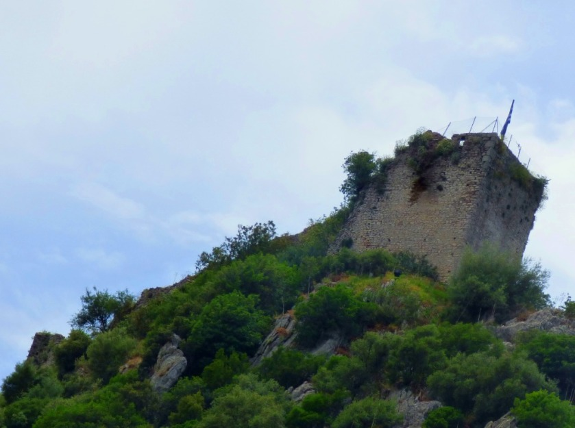 Karytaina Castle from below I