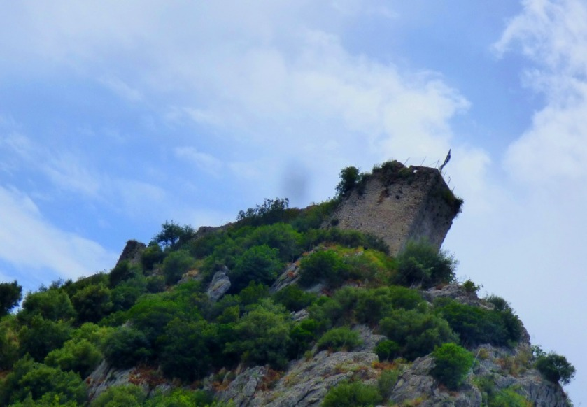 Karytaina Castle from below II