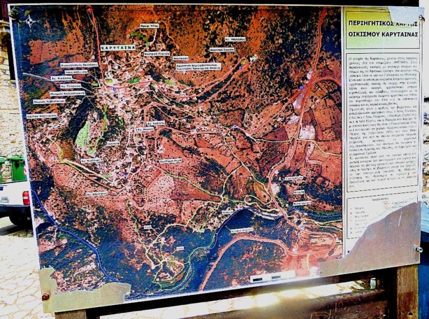 Karytaina map