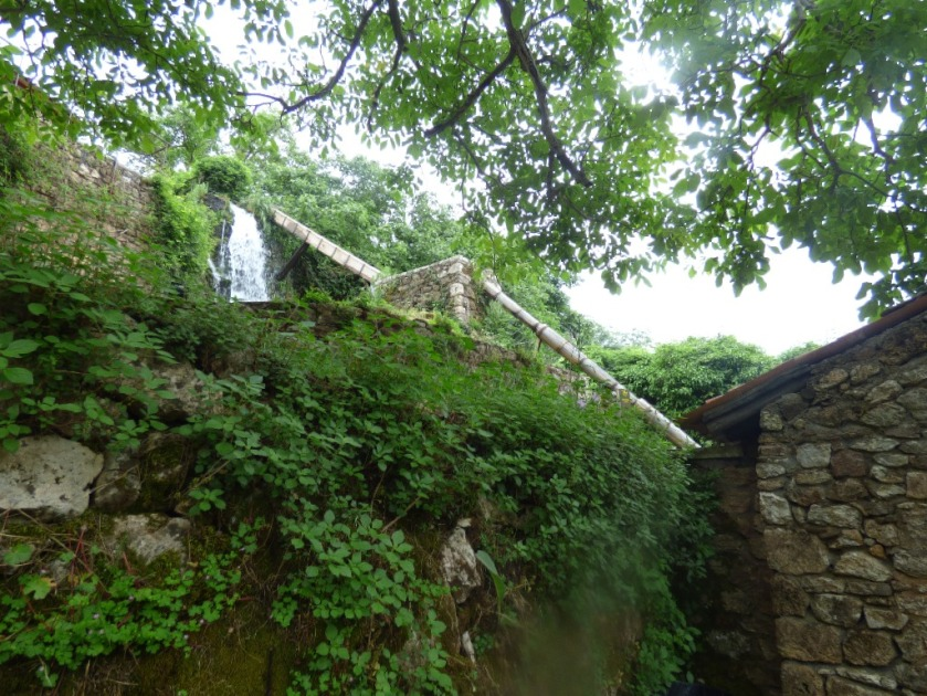 Looking up from the gunpowder mill