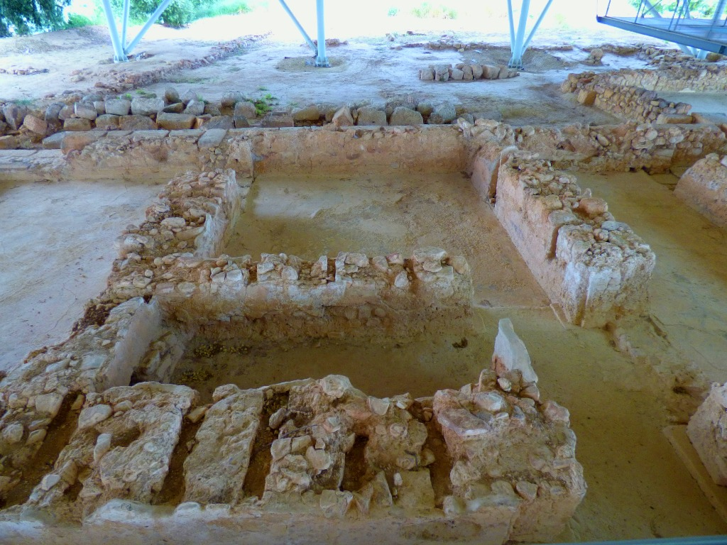 Olive oil storerooms remains