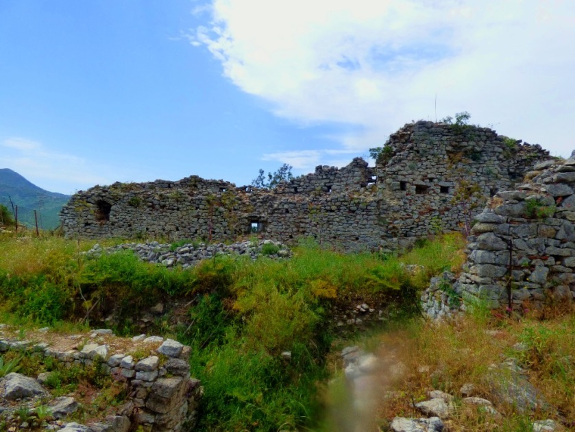 ruins, Karytaina castle II